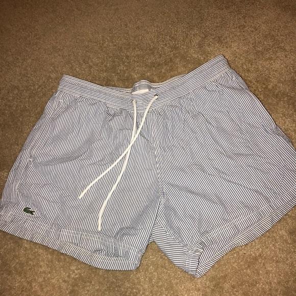 d11e9d78dc Lacoste Other - Men's Lacoste seersucker swim shorts